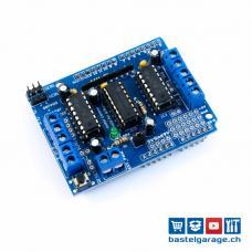 Motor Control Shield für Arduino V1.0 mit L293D