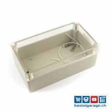 Kunststoffgehäuse Gehäuse IP67 Transparent L