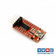 Mini USB UART FTDI Programmer 3.3/5V USB Serial