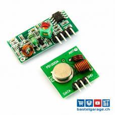 Funk Modul 433MHz RF Transmitter und Receiver Set
