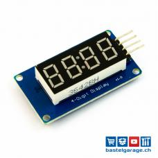 7-Segment 4 Bits Digital LED Display TM1637