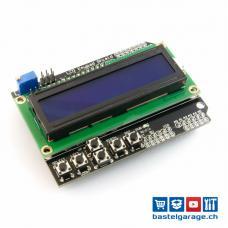 LCD  1602 Keypad Shield für Arduino UNO