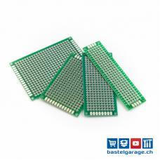 Doppelseitige Prototyp Leiterplatte Platine PCB Set mit 4 Stück