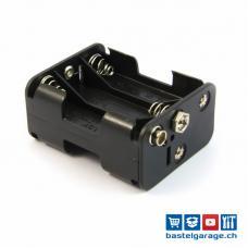 Batteriefach / Batteriehalter 6 x AA mit 9V Stecker Anschluss