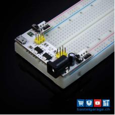 Power Adapter für Breadboard Steckbrett 5V / 3.3V