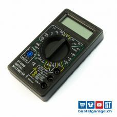 Messgerät Digital Multimeter DT-830B Schwarz