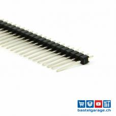 Stiftleiste Male 1 X 40 Polig RM 2.54mm gerade lange Pin