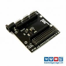 ESP8266 NodeMCU V3 Base Board ProtoShield mit Spannungsregler