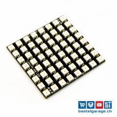 NeoPixel NeoMatrix 8x8 - 64 WS2812 RGB LED