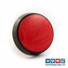 Arcade Taster Button beleuchtet 60mm - Rot