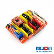 CNC Shield A4988 Arduino für 3D Drucker und Fräsmaschinen (GRBL)
