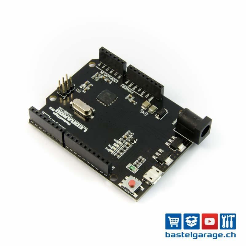 arduino leonardo r3 kompatibles board atmega32u4 bastelgarage elektronik online shop. Black Bedroom Furniture Sets. Home Design Ideas