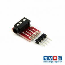 Audio Breakout Board TRRS 3.5mm Jack Stereo