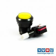 Arcade Taster Button beleuchtet 33mm - Gelb