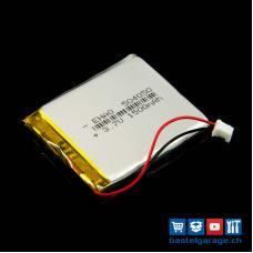 LiPo Akku 1500mAh JST 2.0 / Lithium Ion Polymer