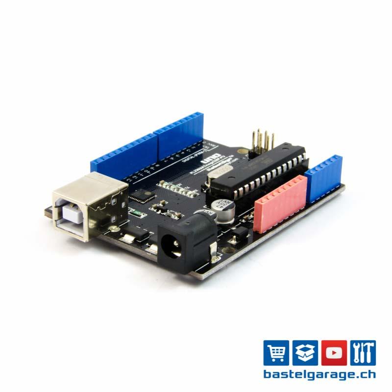 Arduino uno kompatibles board atmega p dip