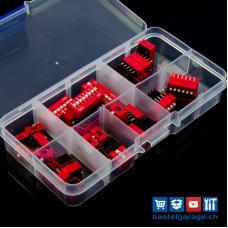 DIP-Schalter Set 35 Stück assortiert