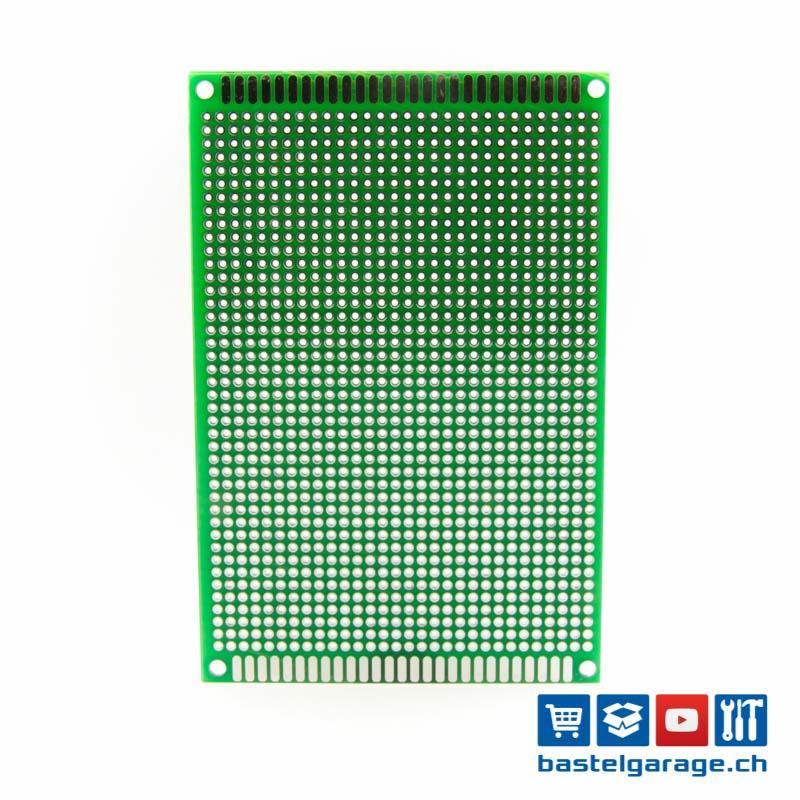 120x80mm Prototyp PCB Platine - Bastelgarage Elektronik Online Shop