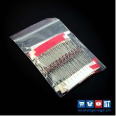 Zener-Diode Set 100 Stück assortiert 0.5W