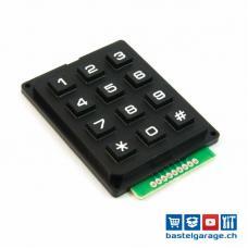 Keypad Tastenfeld 4x3 Matrix