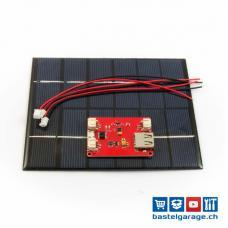Budget Solar Set 2W mit Laderegler für Lipo Akku