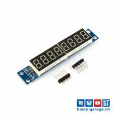 7-Segment 8 Bits MAX7219 Digital LED Display