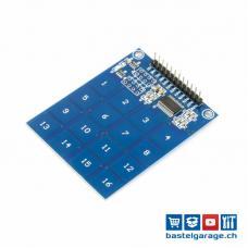 Touch Tastatur 16 Tasten 4x4 Matrix TTP229