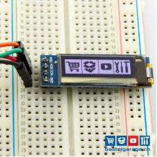 OLED Display Weiss I2c 128x32 0.91''