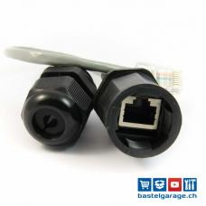 Ethernet RJ45 Kabelverschraubung IP67
