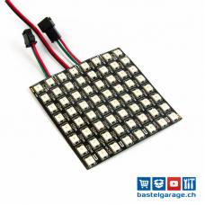 NeoPixel FlexMatrix 8x8 - 64 WS2812B RGB LED