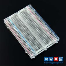 Half-Size Breadboard Transparent ZY-60