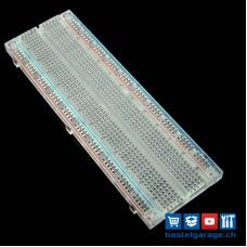 Full-Size Breadboard Transparent