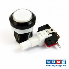 Arcade Taster Button beleuchtet 33mm - Weiss