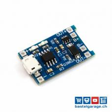 TP4056 Lithium LiPo Akku Batterie Lademodul Micro USB 5V 1A