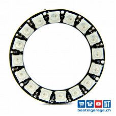 Neopixel Ring 16x WS2812B RGB LED
