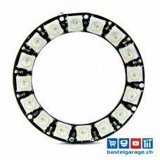 Neopixel Ring 16x WS2812B RGB LED