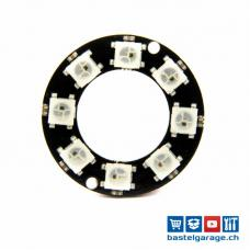 Neopixel Ring 8x WS2812B RGB LED