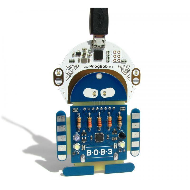 lern bausatz bob3 roboter bastelgarage elektronik online shop. Black Bedroom Furniture Sets. Home Design Ideas