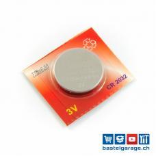 CR2032 Knopfzellen Batterie 3V
