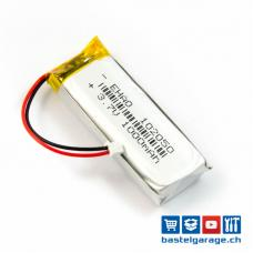 LiPo Akku 1000mAh JST 1.25 / Lithium Ion Polymer für LoRa TTGO