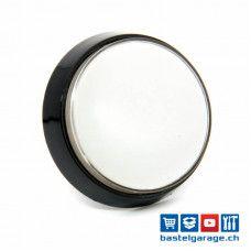 Arcade Taster Button beleuchtet 60mm - Weiss