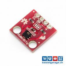 HTU21D Temperatur- und Luftfeuchtigkeitssensor I2C