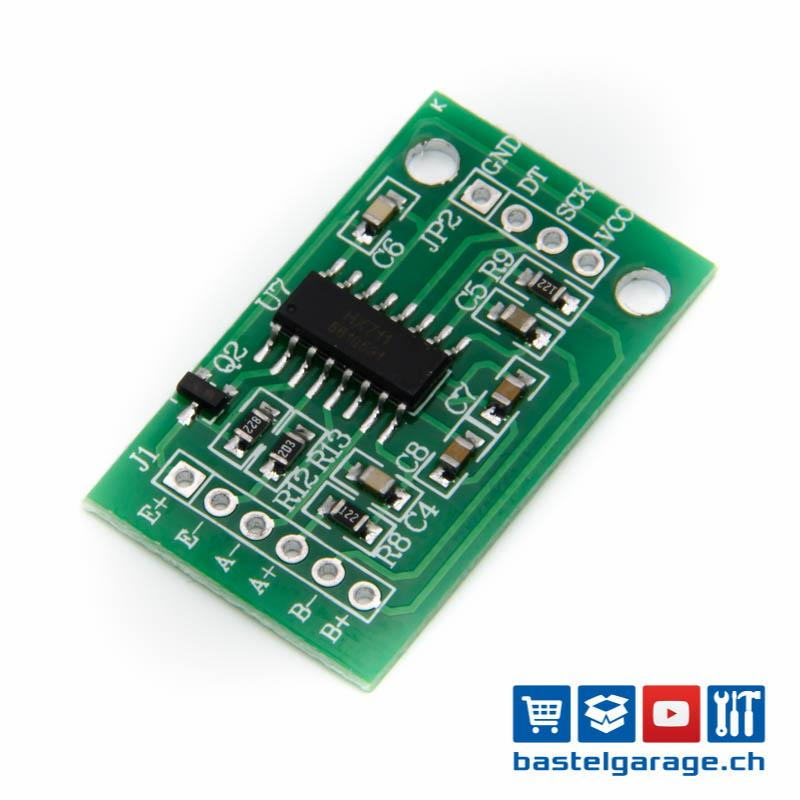 Wägesensor 24-Bit-A D-Wandleradapter Wägezellenverstärkerplatine Hx711