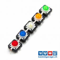LED Taster / Button Set 5 Stück