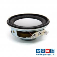 Lautsprecher 4Ohm 3W 40mm