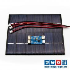 Solar Set 2W LOLIN32 mit Laderegler für Lipo Akku