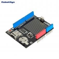 Data Logger Shield für Arduino MicroSD Card + RTC