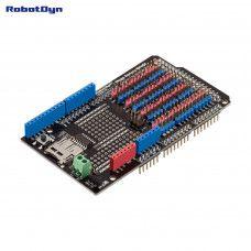 Sensor Shield für Arduino Mega 2560 mit SD-Card Logger