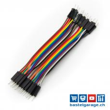 Dupont Kabel M-M 10cm 20 Stück