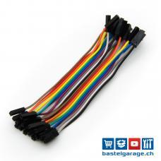Dupont Kabel F-F 10cm 20 Stück